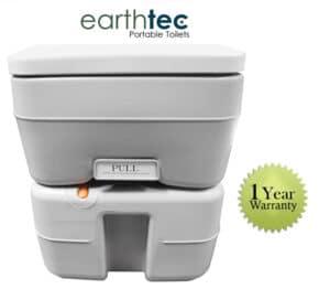 Earthtec ETEC Non-Stick Sanitary Portable Toilet Bowl