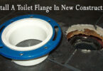 4. how to install a toilet flange in new construction